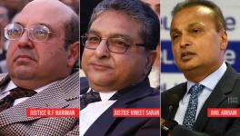 R F Nariman, Vineet Saran and Anil Ambani
