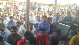 Farmers Protest Against Land Acquisition for Limestone Mining by Ultra Tech Cement in Bhavnagar