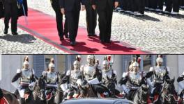 Italy receives Chinese president Xi Jinping in Rome with stately pageant