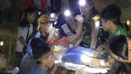 Dozens Trapped In The Collapse Of a Makeshift Gold Mine In Indonesia