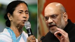 West Bengal Chief Minister Mamata Banerjee and Union Home Minister Amit Shah