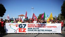G7 Protests in France