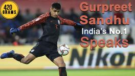 Indian football team goalkeeper Gurpreet Singh Sandhu