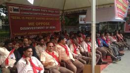 BEML Employees Protest Privatisation