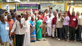Tamil Nadu LIC Agents Protest Against FDI in Insurance and GST on Premium