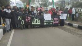 Chants of 'CAA se Azaadi' as Hundreds of AMU Students March in Protest