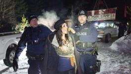 Canada Raids Indigenous Lands for Construction