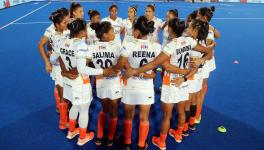 The Indian women's hockey team players united in Covid-19 relief