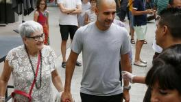 Pep Guardiola's Mother