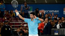 Djokovic has famously also revealed himself to be an anti-vaxxer, saying he may not return to tennis if vaccinating against coronavirus becomes the preferred method for participation in the future. (Picture: Vaibhav Raghunandan)