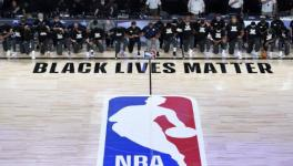 NBA players show solidarity with movement against racism
