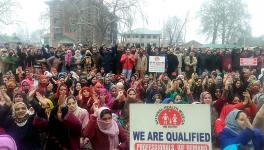 Amid COVID-19, NHM Workers Fight for 'Equal Pay for Equal Work' in Kashmir
