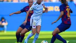 Sofia Jakobsson (in white) was one of the biggest signings made by Deportivo Tacon last season and will feature prominently for Real Madrid Femenino in the women's Primera Division next season. (Picture: Real Madrid Femenino/Twitter)
