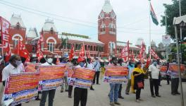 CITU Holds Two-day National Protest Against Railways Privatisation