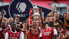 Arsenal win FA Cup beating Chelsea 2-1