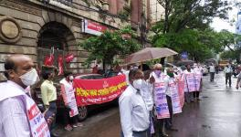 Wage Deal Flayed by Bank Employees, Protest Held at 200 Branches