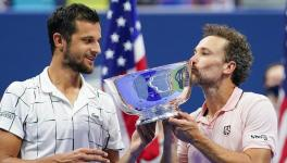 US Open doubles champions Mate Pavic and Bruno Soares