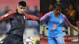 Gurpreet Singh Sandhu and Sanju win AIFF player of the year awards
