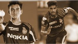 Kamlesh Nagarkoti and Shivam Mavi of the KKR