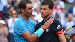 Rafael Nadal vs Dominic Thiem at French Open 2020