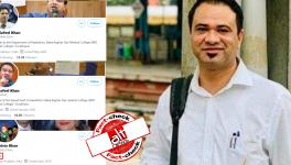 Fake Twitter accounts created in Dr Kafeel Khan and his wife Shabista Khan's name