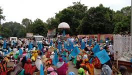 Narmada Valley: With Their Homes Submerged, Villagers Protest in Flood Water