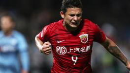 Elkeson of China national football team