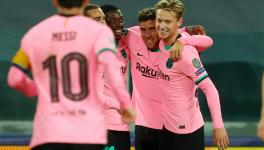 Juventus vs FC Barcelona match report