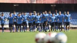 Indian football team players mental wellbeing