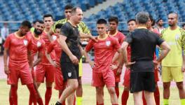 Indian football team under coach Igor Stimac
