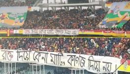 Mohun Bagan vs East Bengal Kolkata derby and anti CAA protests