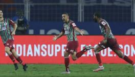 David Williams of ATK Mohun Bagan team in the ISL