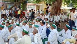 UP Farmers Protest.