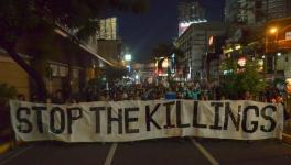 Human rights organizations in the Philippines allege that anywhere between 5,000 to 20,000 were killed in the violent anti-drug campaign of the Duterte administration. Photo: Bulatlat