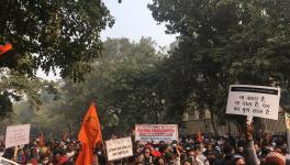 At Civic Workers' March in Delhi, Utensils Banged to Press for Pending Salaries