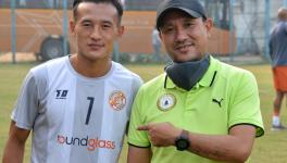 Punjab FC's Chencho Gyeltshen has previously spent time under the tutelage of coach Chencho Dorji at Bhutan's national academy in Thimpu. (Picture courtesy: Siddharth Rawat)