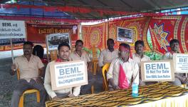 Dharna Against Privatisation of BEML Enters 39th Day in Palakkad, 'Protest Wall' on Feb 17