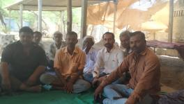 Farmers of Ghogha taluka who lost their land completely or partially