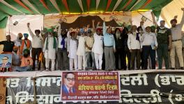 Ambedkar Jayanti at Farmers Protests