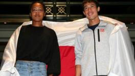 Naomi Osaka and Kei Nishikori