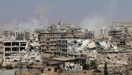 The Battle of Aleppo nearing its end game