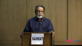 Prof. Prabhat Patnaik Speaks on the Spontaneity of Capitalism