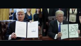 Internet Meme on Trump's Executive Orders