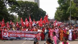 Anganwadi Workers Strike