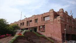 Teachers and Students Oppose JNU Administration's Attempt to Shut Down GSCASH