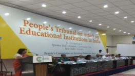 people's tribunal on the Attack on Educational Institutions