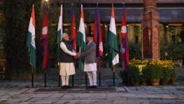 Narendra Modi and K.P. Sharma Oli
