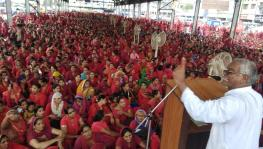 Haryana ASHA Workers Launch Indefinite Strike Seeking Execution of their Long Pending Demands