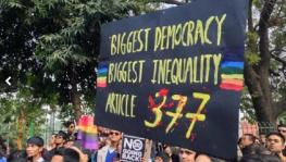 Section 377 debate