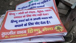Media Hub in Noida Plastered With Islamophobic Posters, Police Delay Filing an FIR